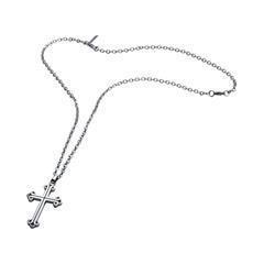 Halskette Doolin für Herren aus Edelstahl mit Kreuz