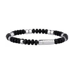 Armband für Herren aus Edelstahl schwarz
