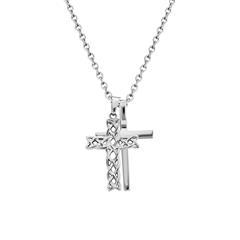 Kreuzkette Struve für Herren aus Edelstahl