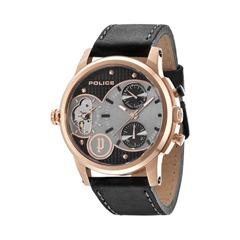 Dual-Time-Uhr für Herren von POLICE PL14376JSR.03