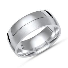 Exklusiver Silberring 925er Silber in 8mm