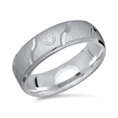 925 Silber Ring mit Zirkonia in 6 mm