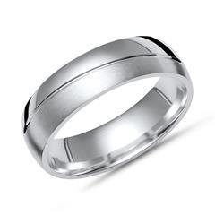 Exklusiver Silber Ring 925er Silber in 6 mm