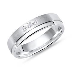 925 Silberring: Ring Silber Zirkonia