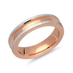 Hochwertiger Ring 925er Silber rosé vergoldet