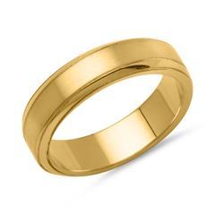 Vivo Herrenring 925er Silber vergoldet