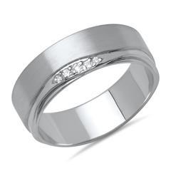 Damenring von Vivo 925er Silber Zirkonia
