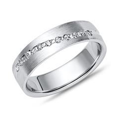 Vivo-Damenring Silber Zirkonia