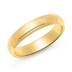 Herrenring aus vergoldetem 925er Silber