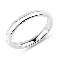 Ring Edelstahl konvex 3mm breit