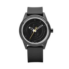 Smile Solar unisex Armbanduhr schwarz