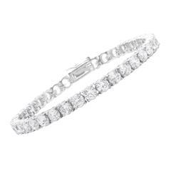 Top Armband Silber 925 mit Zirkonia einreihig