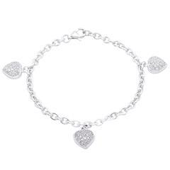 Exklusives 925 Silber Armband