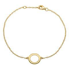 Filigranes vergoldetes Silberarmband