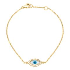 925 Silber Armband vergoldet Zirkonia