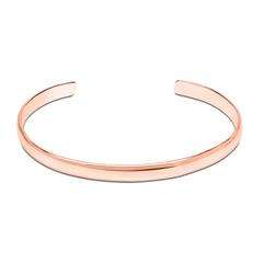 Armreif rosévergoldetem 925er Silber