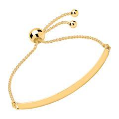 Gravur Armband 925er Silber vergoldet