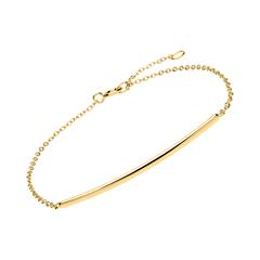 Armband Sterlingsilber IP-Gold