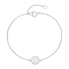 Gravierbares Sterlingsilber Armband