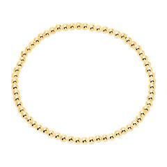 Armband für Damen aus vergoldeten 925er Silberperlen