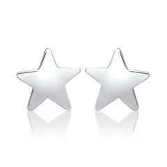 Sternenohrstecker aus Sterlingsilber