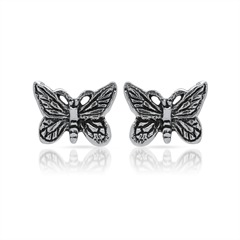 Ohrstecker aus 925er Silber Schmetterlinge