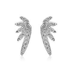 Ohrstecker Wings aus Sterlingsilber mit Zirkonia