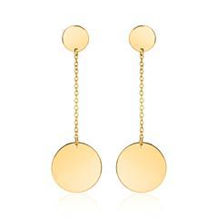 Ohrhänger für Damen aus 925er Silber, gravierbar