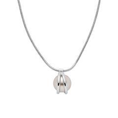 Kette Agnethe für Damen aus Edelstahl mit Perle