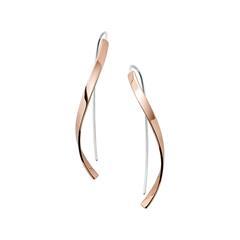 Ohrhänger Kariana für Damen aus Edelstahl, rosé