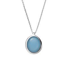 Halskette Sea Glass für Damen aus Edelstahl