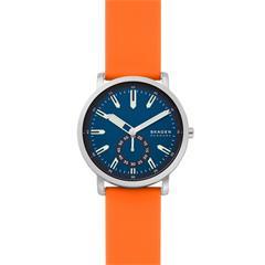 Quartz Watch Colden For Men With Silicon Strap, Orange