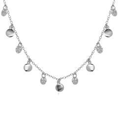 Halskette aus Sterlingsilber mit Zirkonia