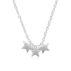 Kette Sterne aus Sterlingsilber