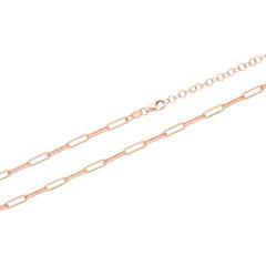 Damenkette aus rosévergoldetem Sterlingsilber