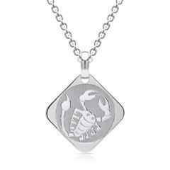 Silberkette Sternzeichen Skorpion