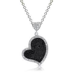 Halskette 925 Silber inklusive Herzanhänger