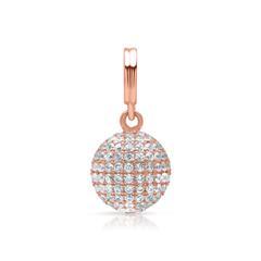 Premium Kettenanhänger Silber mit Steinen