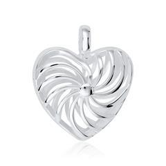 Medaillon Herz aus Sterlingsilber