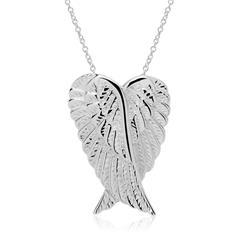 925er Silber Kette und Flügelanhänger