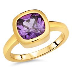 Exklusiver Silberring Amethyst
