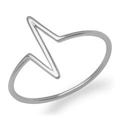 Ring Herzschlag aus 925er Silber