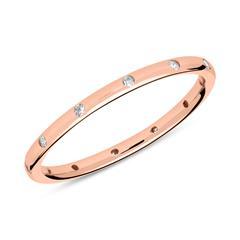 Ring aus rosévergoldetem 925er Silber