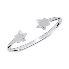 Ring Sterne aus Sterlingsilber