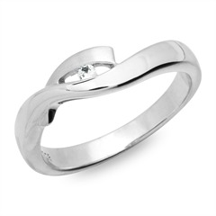 925 Sterling Silber Set Ohrringe Kette Ring SS0002