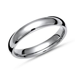 Glänzender Ring Titan in 4mm Breite