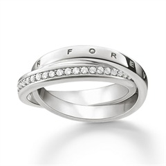 Ring Together Forever aus 925er Silber