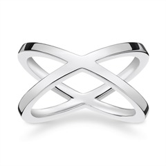 X-Ring Sterlingsilber