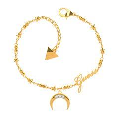 Damen Armband Get Lucky aus Edelstahl, vergoldet