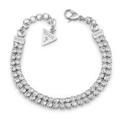Edelstahl Armband Party Time mit Swarovski Kristallen